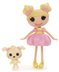 lalaloopsy mini doll dollop light-n-fluffy dollup