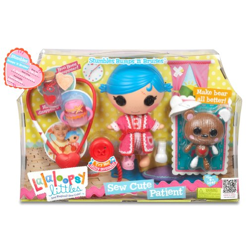 Dolls & Bears Lalaloopsy Littles Sew Cute Patient Bumps N Bruises Doll Terrific Value Fashion, Character, Play Dolls