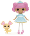 lalaloopsy mini doll fancy frost-n-glaze movable
