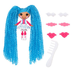 mini lalaloopsy loopy hair doll mittens