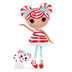 lalaloopsy doll mint stripes doll- dolls