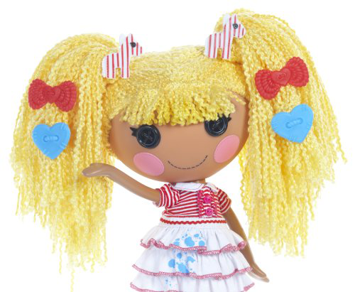Loopy Hair Doll Spot Splatter Splash